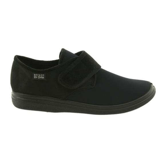 Befado chaussures pour hommes pu 131M003 noir