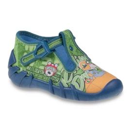 Vert Befado chaussures pour enfants 110P313