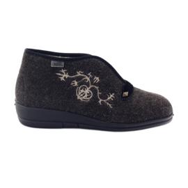 Brun Befado chaussures pour femmes pu 031D027