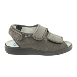Befado chaussures pour femmes pu 676D006 gris