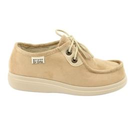 Brun Befado chaussures pour femmes pu 871D007