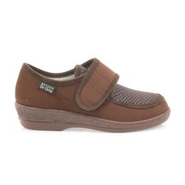Brun Befado chaussures pour femmes pu 984D010