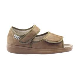 Brun Befado chaussures pour femmes pu 989D003