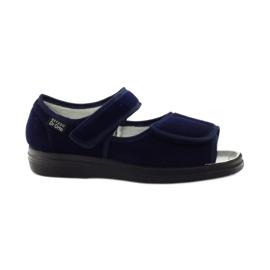 Marine Befado chaussures pour hommes pu 989M002