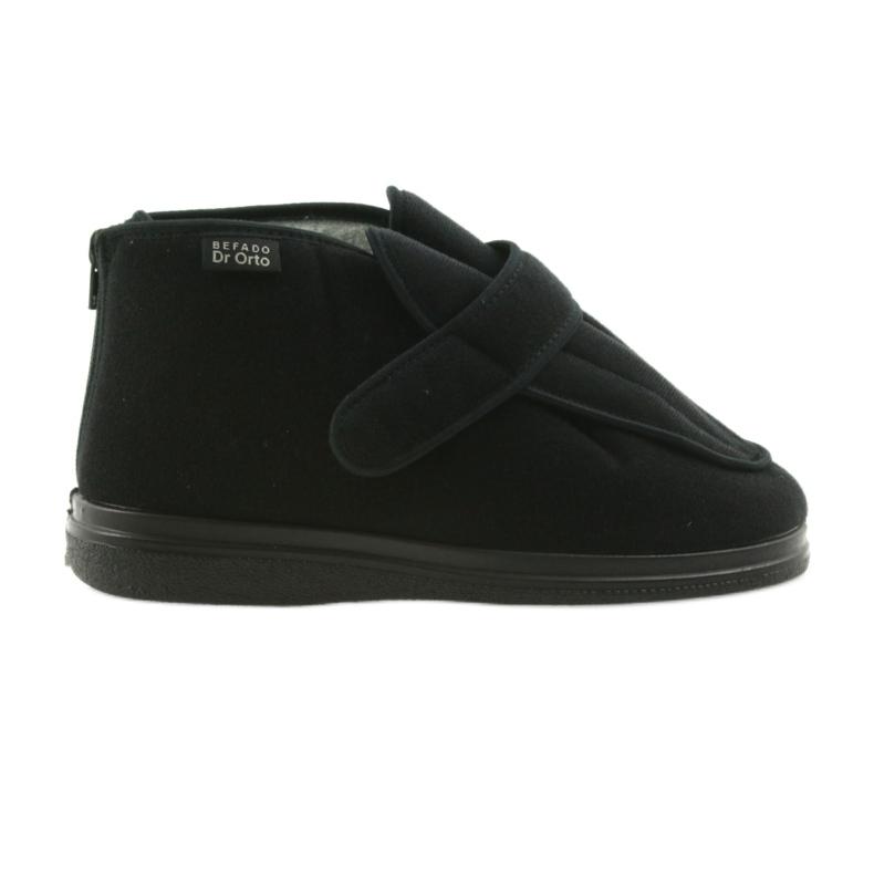 Befado chaussures pour hommes pu orto 987M002 noir