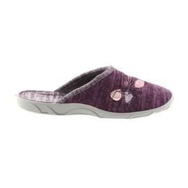 Befado chaussures colorées pour femmes pu 235D152 pourpre