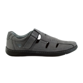Gris Riko hommes chaussures sandales 851