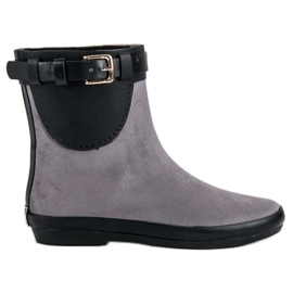 Kylie Galoches basses femmes gris