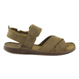 Brun Riko sandales de sport 852