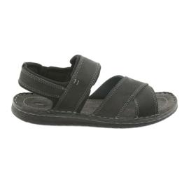 Riko hommes sandales 852 chaussures de sport noir
