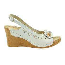 Sandales Gregors 648 blanc