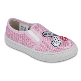 Rose Chaussures Befado pour enfants 417X046