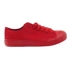 DK Sneakers noué rouge