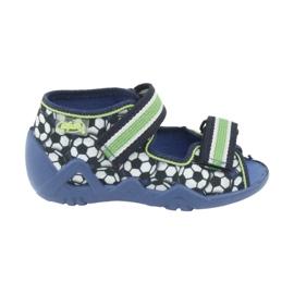 Befado vert chaussures pour enfants 250P078