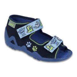 Befado vert chaussures pour enfants 250P076