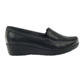 Angello 1720 chaussures mocassins noir