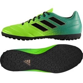 Adidas Ace 17.4 Tf M chaussures de football vert