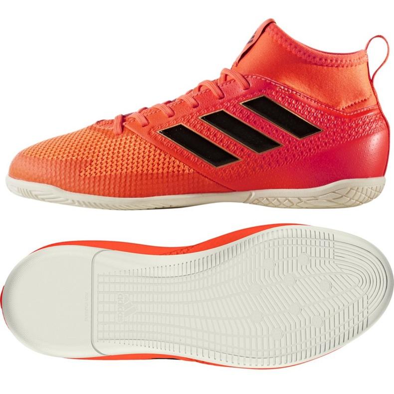Chaussures d'intérieur adidas Ace Tango 17.3 In Jr CG3714 multicolore rouge