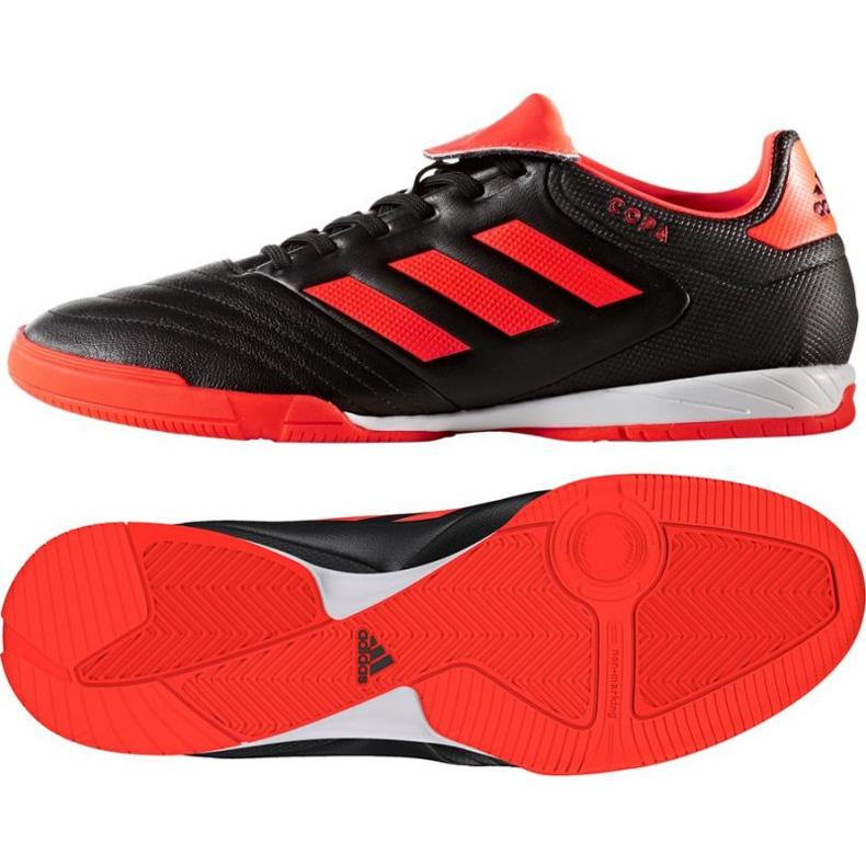 Chaussures Indoor adidas Copa Tango 17.3 In M S77148 noir, orange noir
