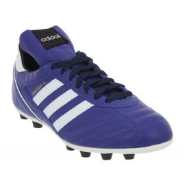 Adidas Kaiser 5 Liga Fg M chaussures de football bleu