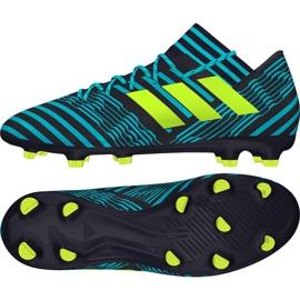 Chaussures de football Adidas Nemeziz 17.3 Fg M marine