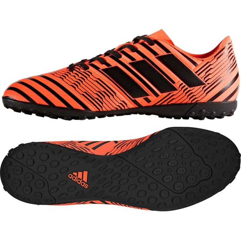Chaussures de foot adidas Nemeziz 17.4 Tf M S76979 orange orange