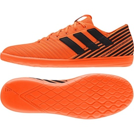 Chaussures d'intérieur Adidas Nemeziz Tango 17.4 orange