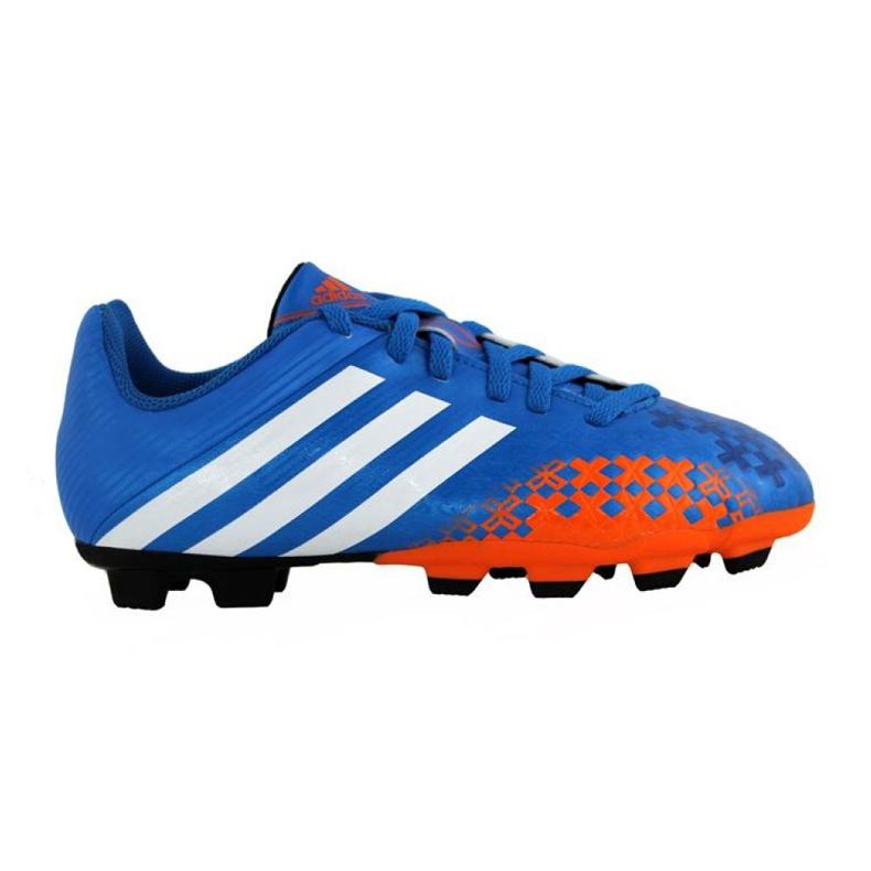 Chaussures de football Adidas Predito Lz Fg Junior Q21735 bleu bleu