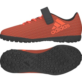Adidas X 17.4 Tf Jr orange