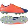 Chaussures de football Nike Hypervenom Phelon Iii Fg M 852556-409 orange violet, orange