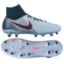 Chaussures de football Nike Magista Onda Df Fg M 917787-400 bleu bleu