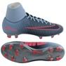 Nike MercurialX Victory chaussures de football bleu