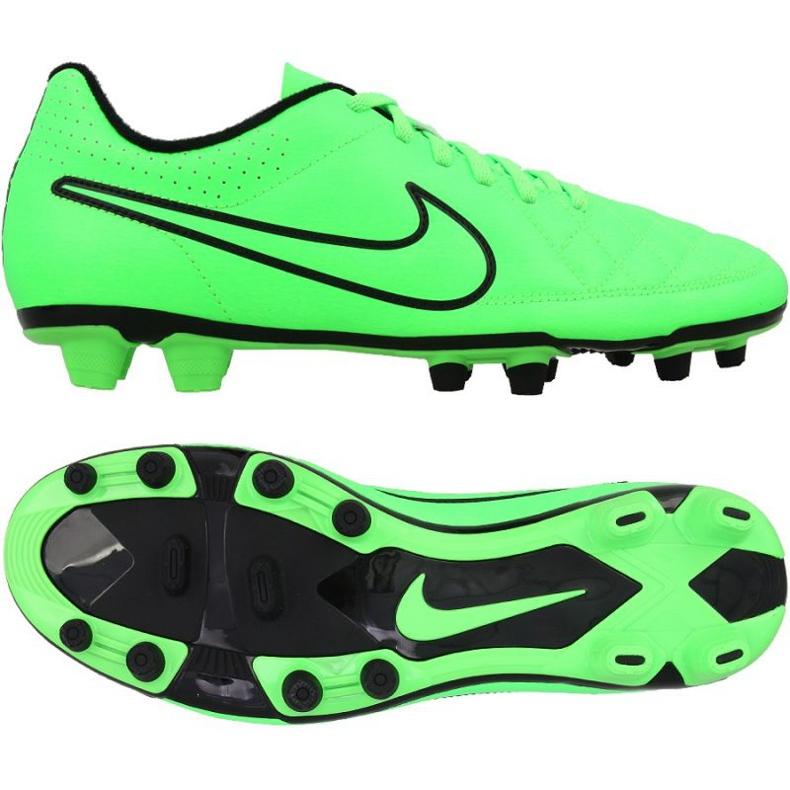 Chaussure de football Nike Tiempo Rio Fg M vert