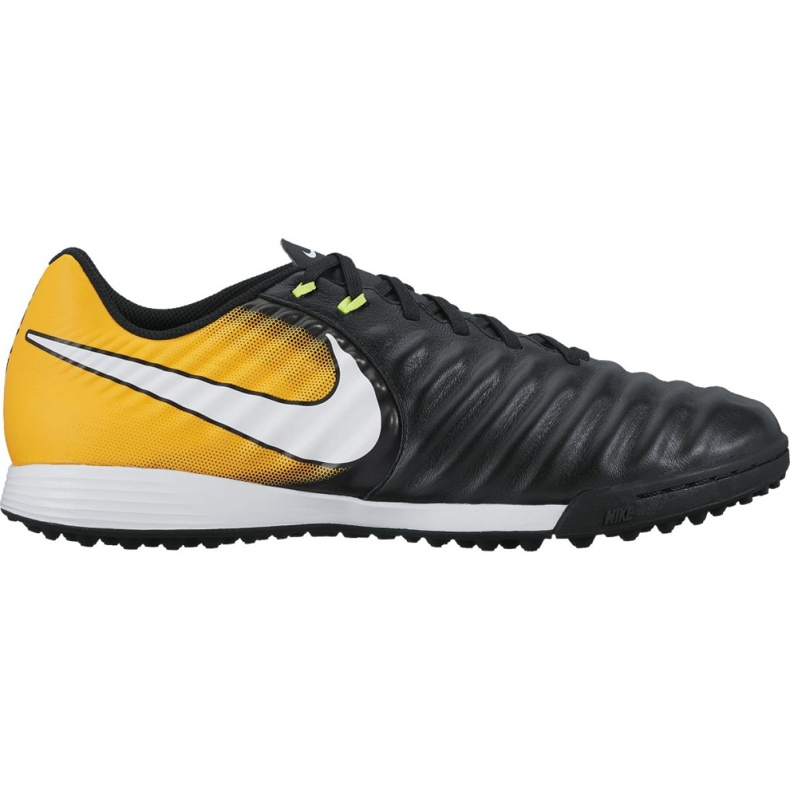 Chaussures de football Nike TiempoX Liger Iv Tf M 897766-008 noir, jaune noir