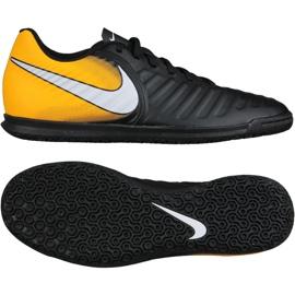 Chaussures d'intérieur Nike TiempoX Rio Iv Ic M 897769-008 noir, jaune noir