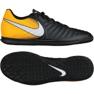 Chaussures d'intérieur Nike TiempoX Rio Iv Ic M 897769-008 noir noir, jaune