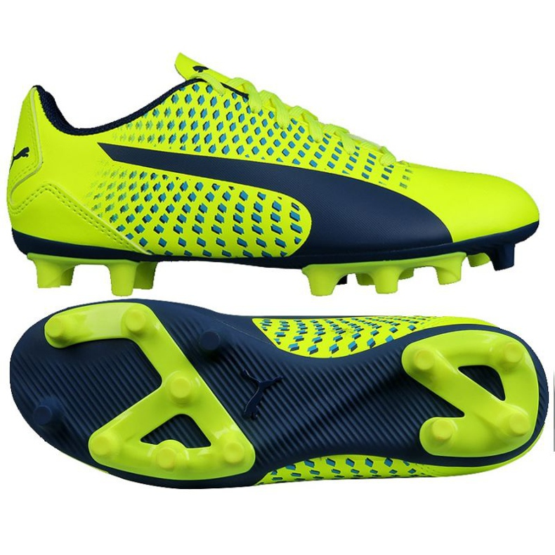 Chaussures de football Puma Adreno Iii Fg Safety Junior 104049 10 vert