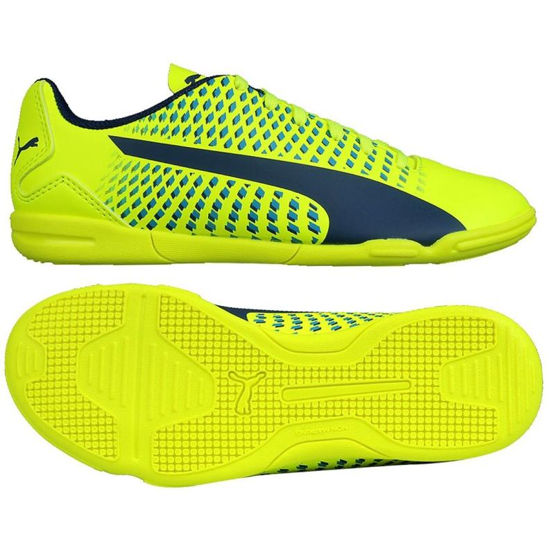Chaussures Indoor Puma Adreno Iii En Jr 104050 09 vert jaune