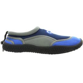 Chaussures de plage en néoprène Aqua-Speed Jr. gris marine