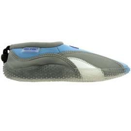Aqua-Speed Jr. chaussures de plage en néoprène gris
