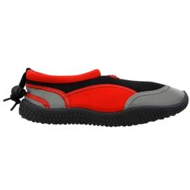 Chaussure de plage en néoprène rouge Aqua-Speed Jr