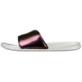 Brun Pantoufles Nike Sportswear Benassi Imprimez-le simplement avec W 618919-013