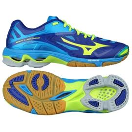 Chaussures de volleyball Mizuno Wave Lightening Z2 M V1GA160043 bleu bleu
