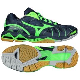 Chaussures de volleyball Mizuno Wave Tornado XM V1GA161236 marine bleu marine