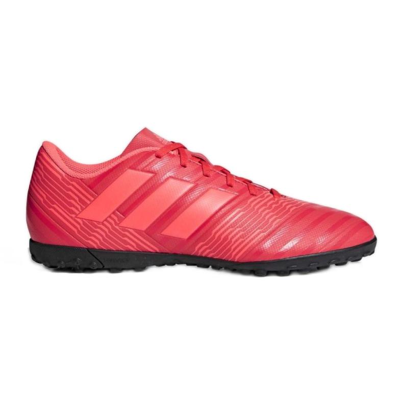Chaussures de football Adidas Nemeziz Tango 17,4 Tf M CP9060 rouge multicolore