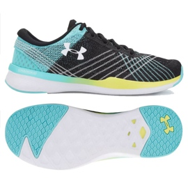 Chaussures d'entraînement Under Armour Threadborne Push Tr W 1296206-003 multicolore