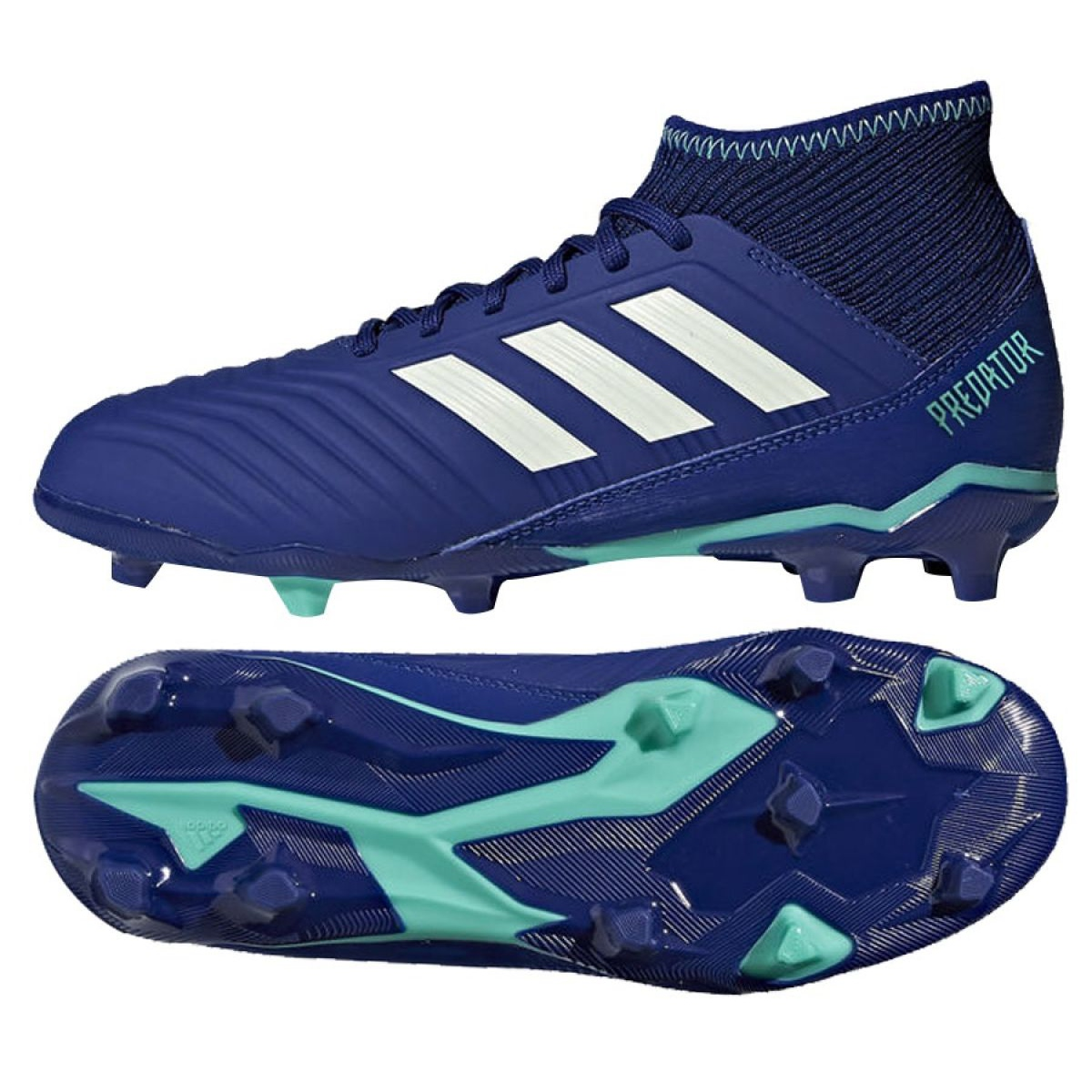new photos many fashionable limited guantity Cp9012 Chaussures Foot De Fg Predator Junior 18 Adidas 3 ...
