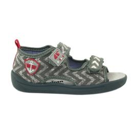 American Club Sandales américaines chaussures enfants en cuir semelle