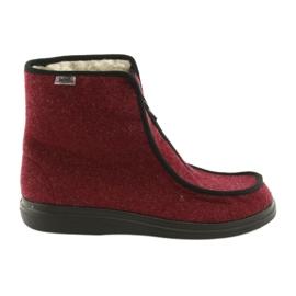 Rouge Befado chaussures pour femmes pu 996D005