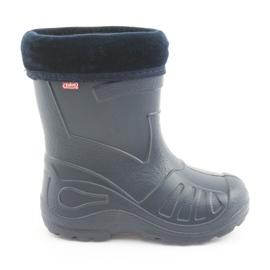 Befado chaussures pour enfants kalosz- grenat 162P103 marine